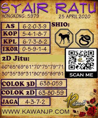 Kode Syair Hk Sabtu 25 April 2020 Permainan Angka Dewi Bulan Buku