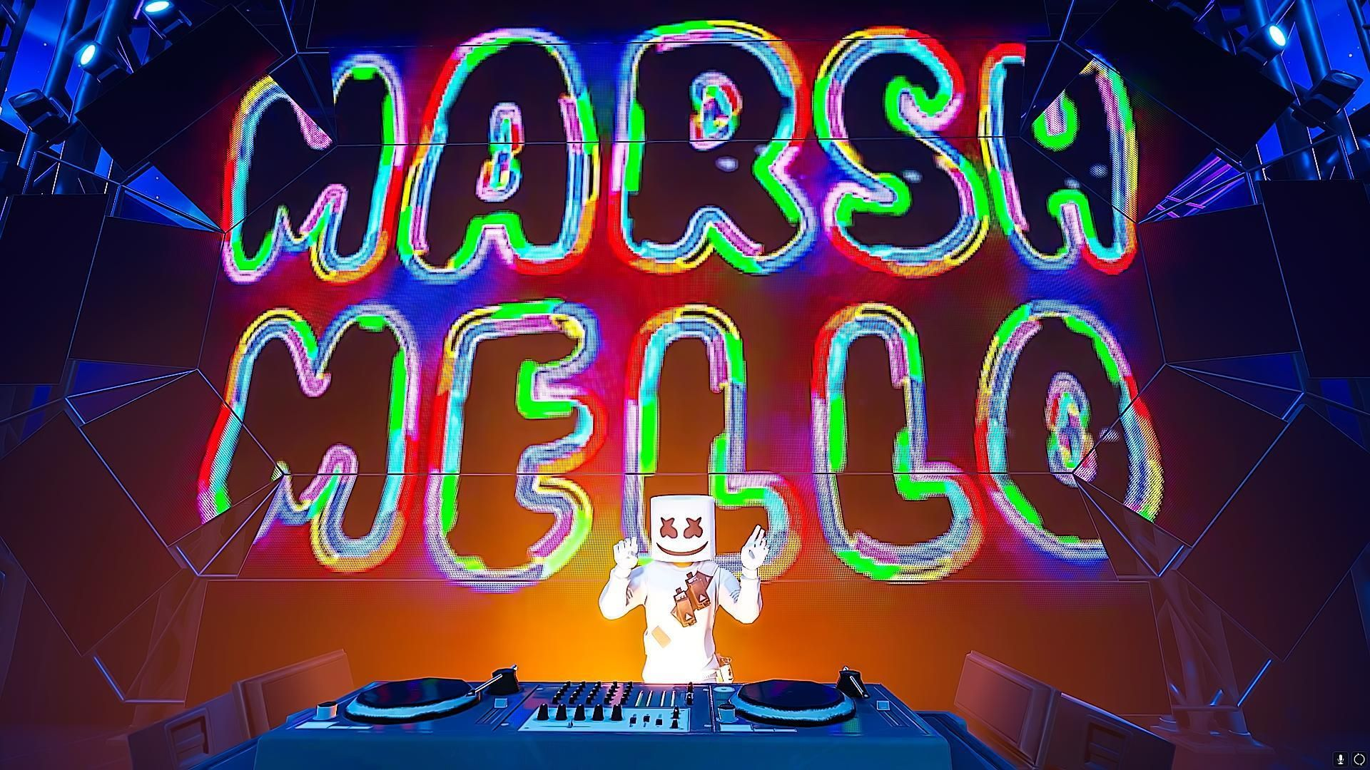 Fortnite Hd Marshmello Concert Wallpapers With Images Fortnite