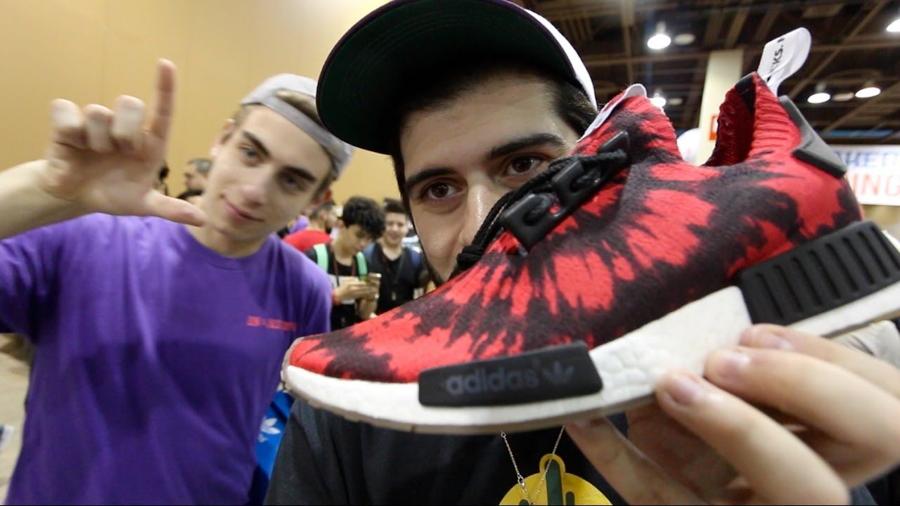 345e273470d71 SNEAKERHEADS AT SNEAKERCON BE LIKE… Feels 22 Sneakers... Thanks for  watching QrewTV