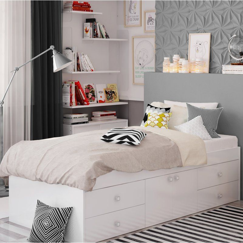 Best Klara Single Frame Bed With Drawers Single Beds With 400 x 300