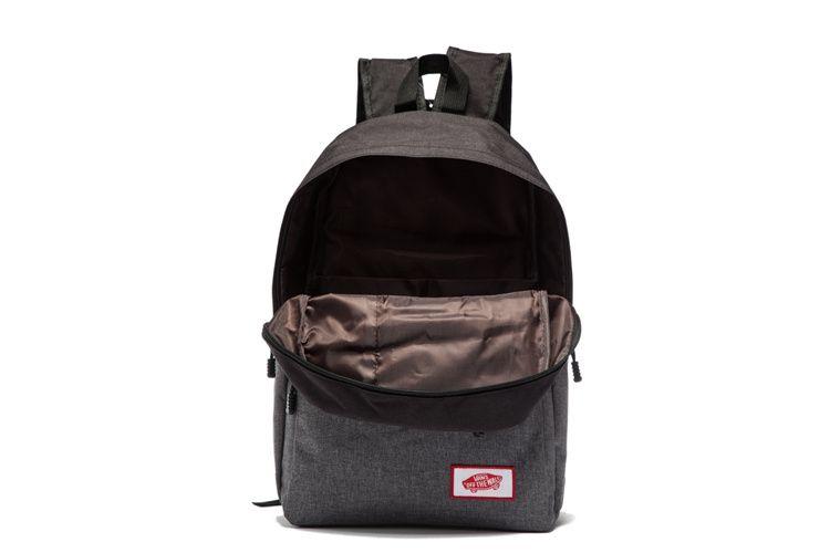 8db6fe96516 Vans shoulder bag black and gray 6  Vans