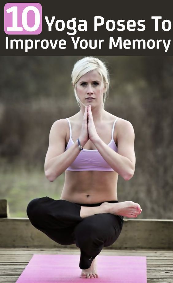 10 posizioni yoga per migliorare la memoria