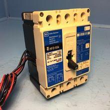 HFD3015 1 WESTINGHOUSE HFD 65K CIRCUIT BREAKER 15 AMP 600 VAC 3 POLE MODEL
