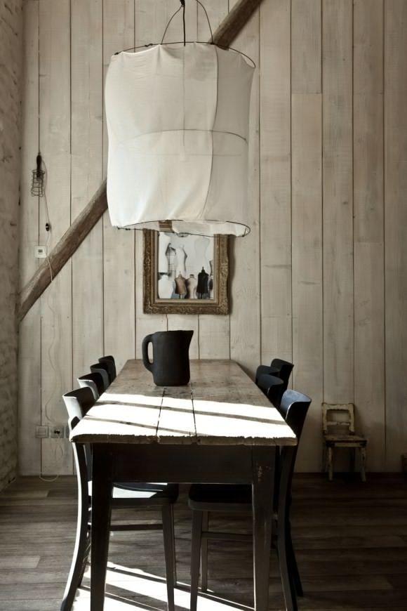 chaises de bistro peintes en noir