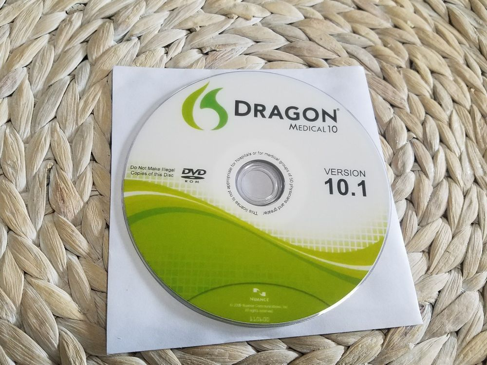 nuance dragon medical 10.1
