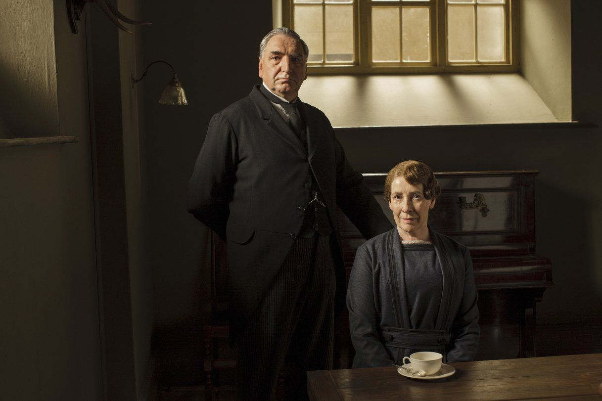 Pictures & Photos from Downton Abbey (TV Series 2010–2015 ) - IMDb--Mr. Carter and Mrs. Hughes