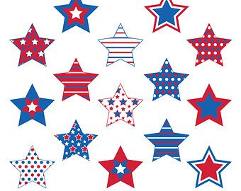 4th of july stars. Pin by linda bell