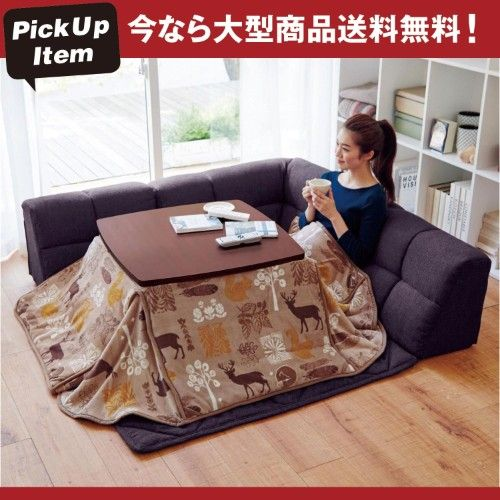 Anese Couch Bed Kotatsu With Heater Under Table