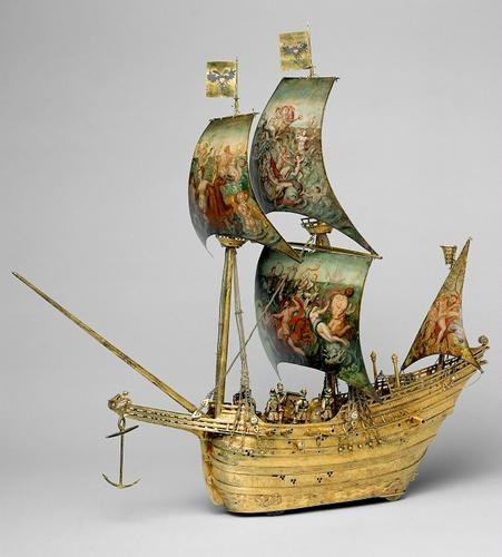 Künstler Augsburg automat in gestalt eines schiffes augsburg 1585 künstler hans