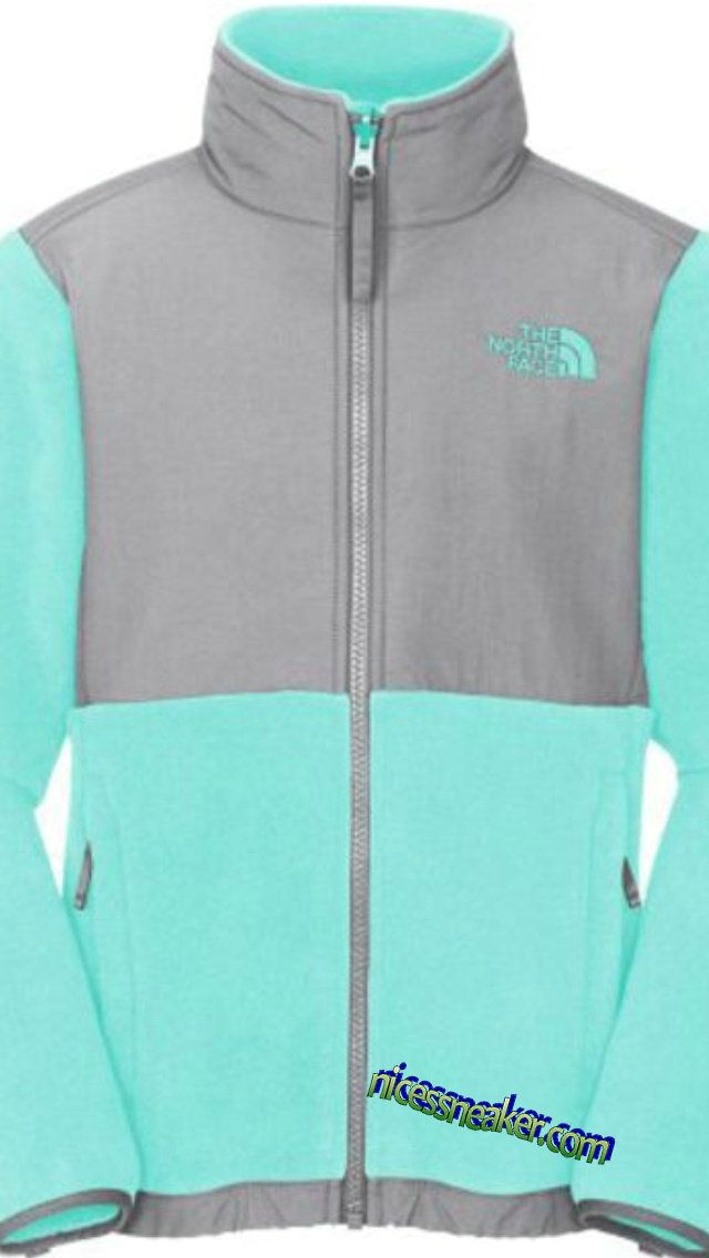 eb19f9f56c24 Save Up To 61% Tiffany blue North Face Jackets Grey  Blue  Womens ...