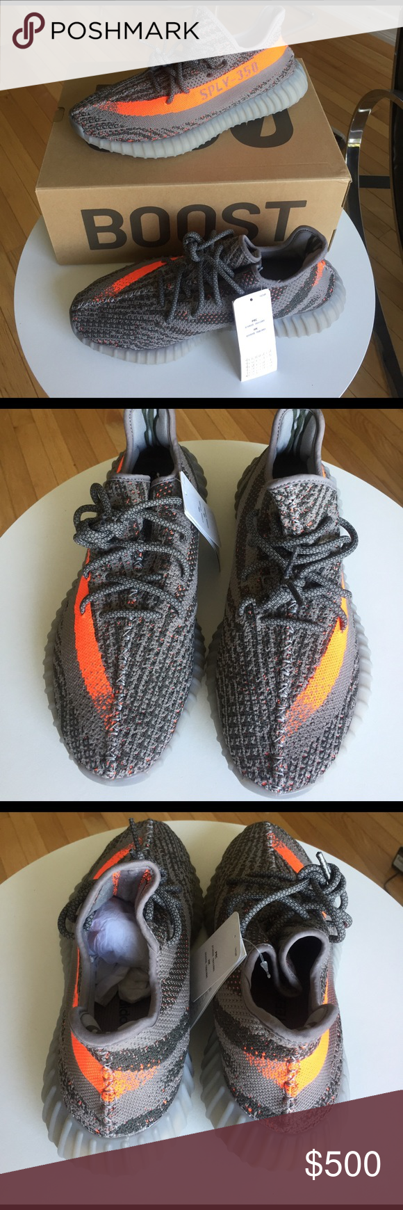 Adidas Yeezy Boost 350 V2 Men Running Shoes BB1829 Workout