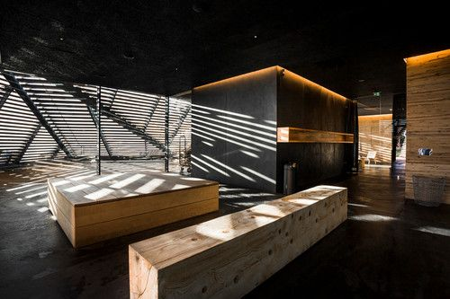 DOMINO:This Is The Chicest Sauna In The World
