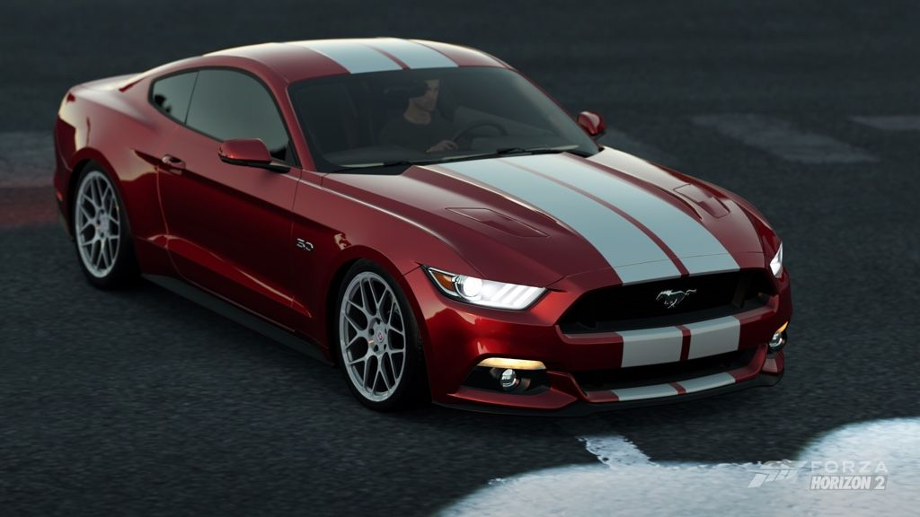 Too Cute Thursday Red And White Stripes Red Mustang Red And