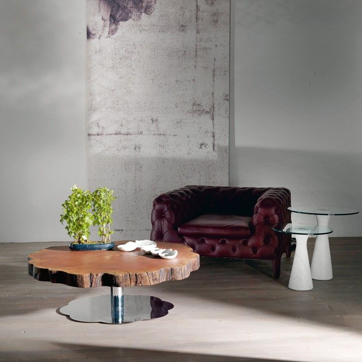 Sequoia Designer Solid Wood Coffee Table by
