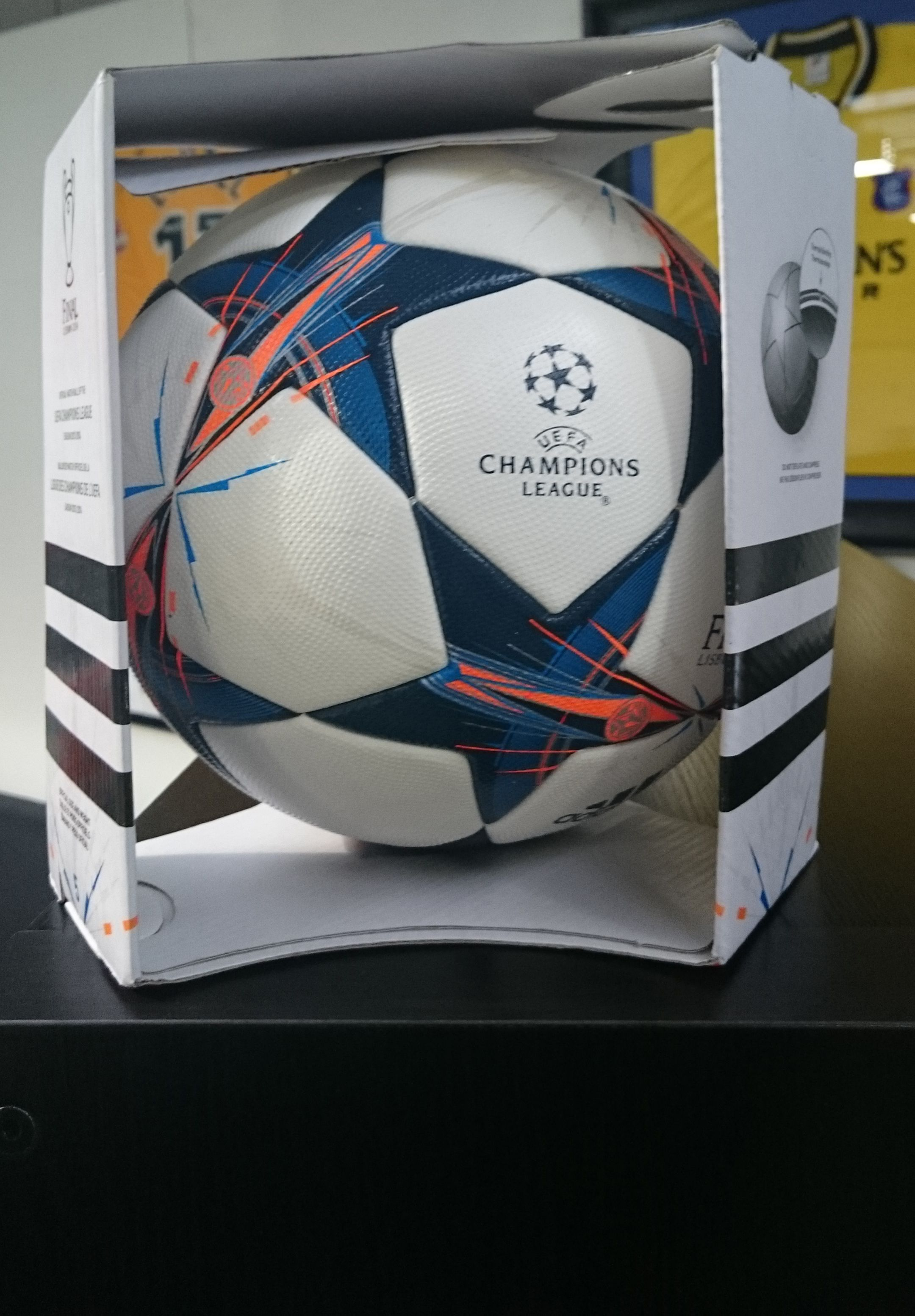 Official Champion s League Match Ball - same as the players on the pitch  use. 31ef71e1c