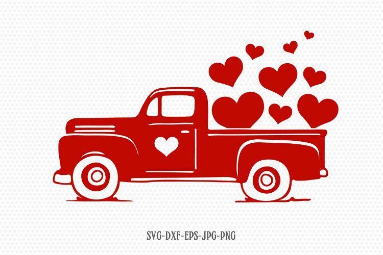 Download Valentines Vintage Truck Svg Valentines Day Svg Love Svg 176081 Svgs Design Bundles Valentine Svg Files Wine Bottle Diy Crafts Valentines Svg