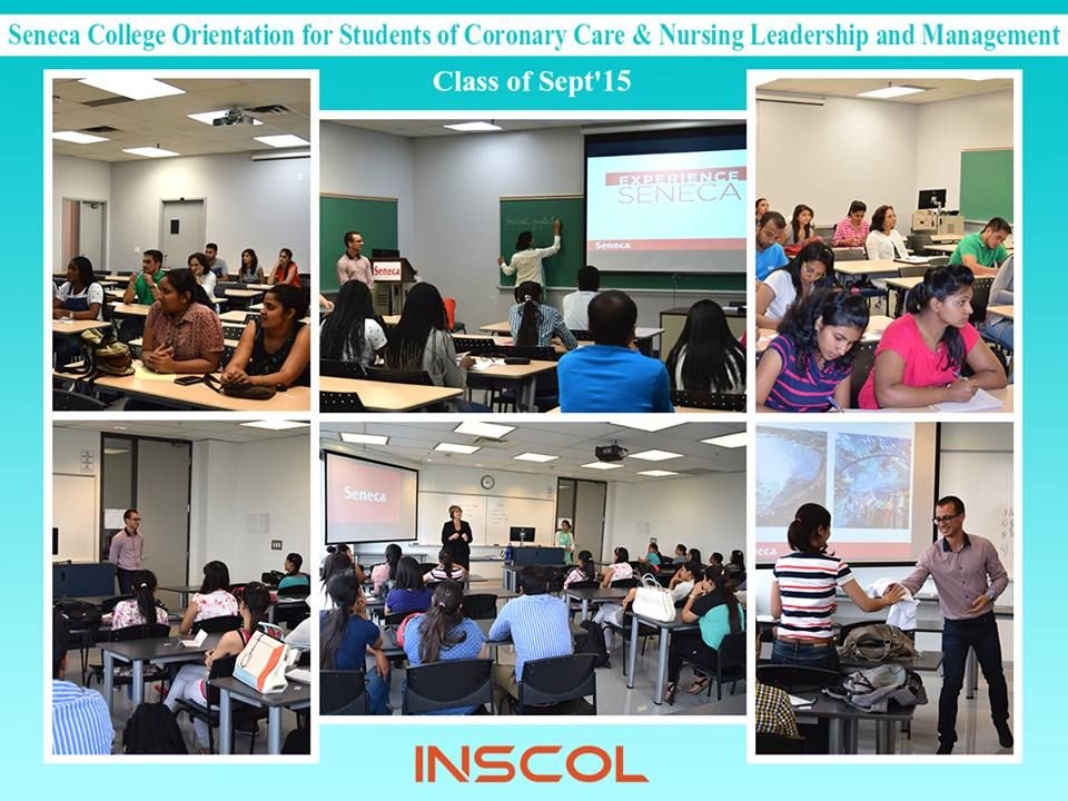 INSCOL Nurse students attend their orientation at