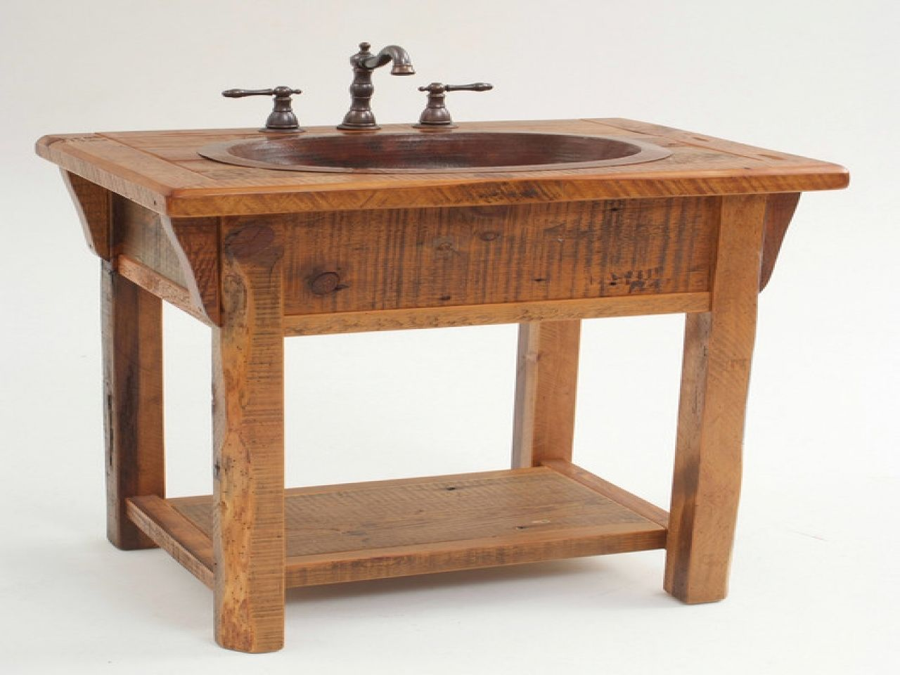 small sink vanity for small bathrooms%0A Small bathroom vanities    Bathroom sink furniture cabinet  rustic bathroom  vanity cabinets
