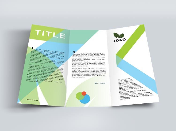 How To Design A Trifold Brochure  Trifold Brochure Tips Trifold