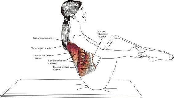 Rolling Like a ball (Rodando atrás).   yoga   Pinterest   Pilates ...