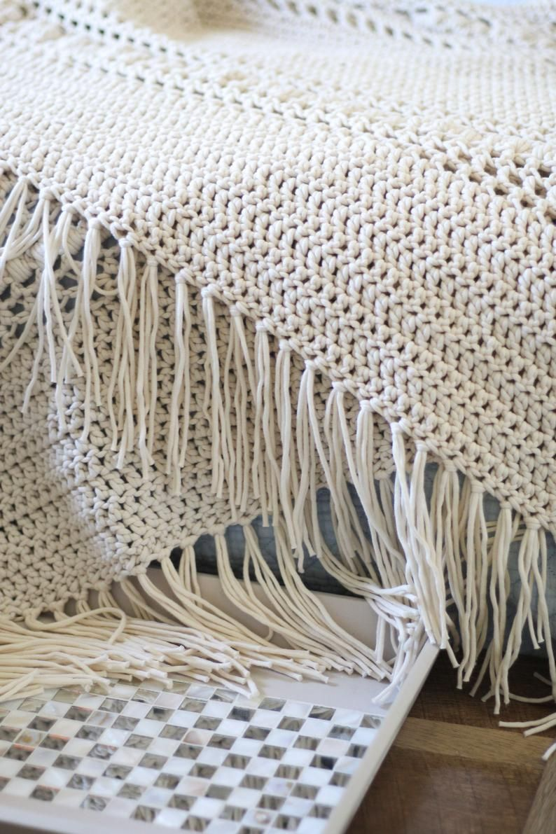 Crochet Pattern, Hygge Throw Blanket, Beginner Fri