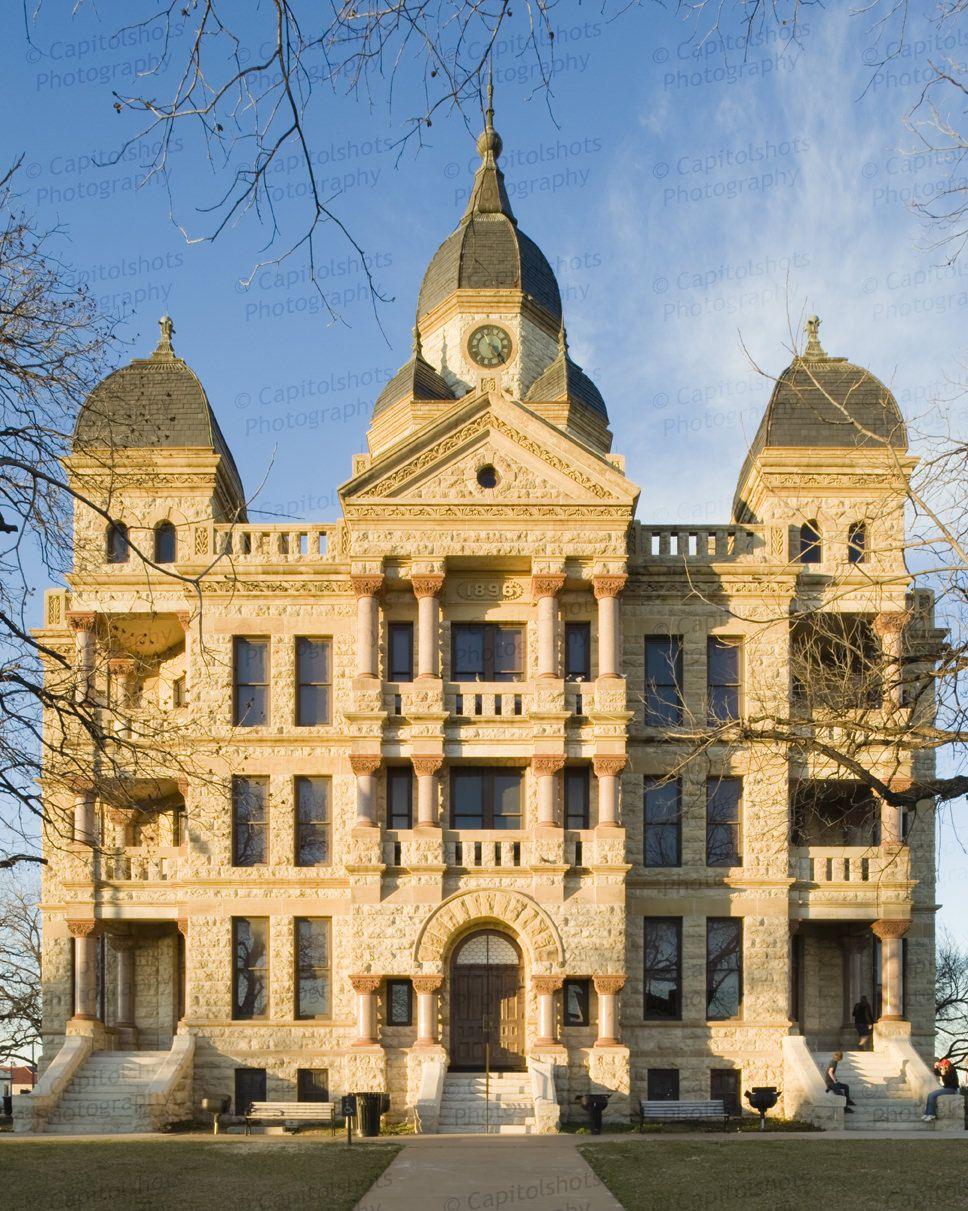 Building Old Denton County Courthouse Denton Tx Built In 1896 Denton Texas Denton County Courthouse