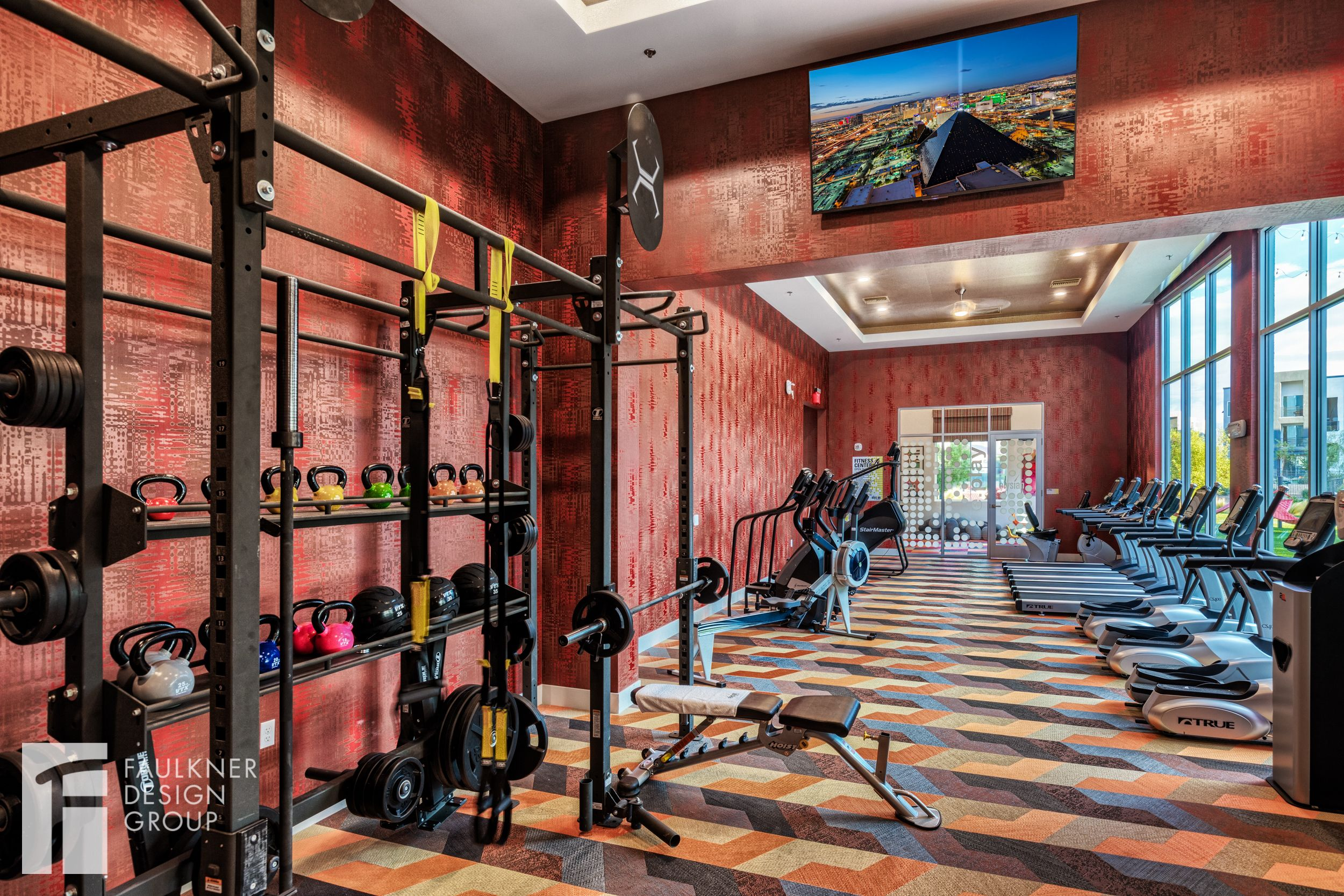 Auburn 160, an ACC property at Auburn University in Alabama, has an  expansive clubhouse with lounge spaces and a full fitness center.