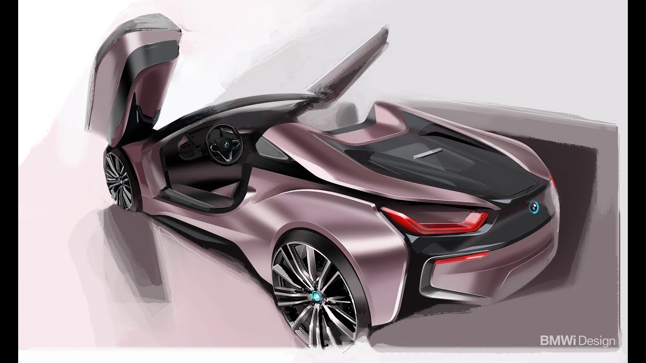 2019 The New Bmw I8 Roadster With Metal 3d Printed Parts Bmw I15