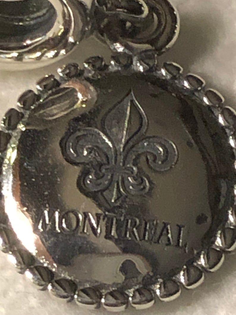Pandora Charms, Montreal Charm, Canada Charms, Silver
