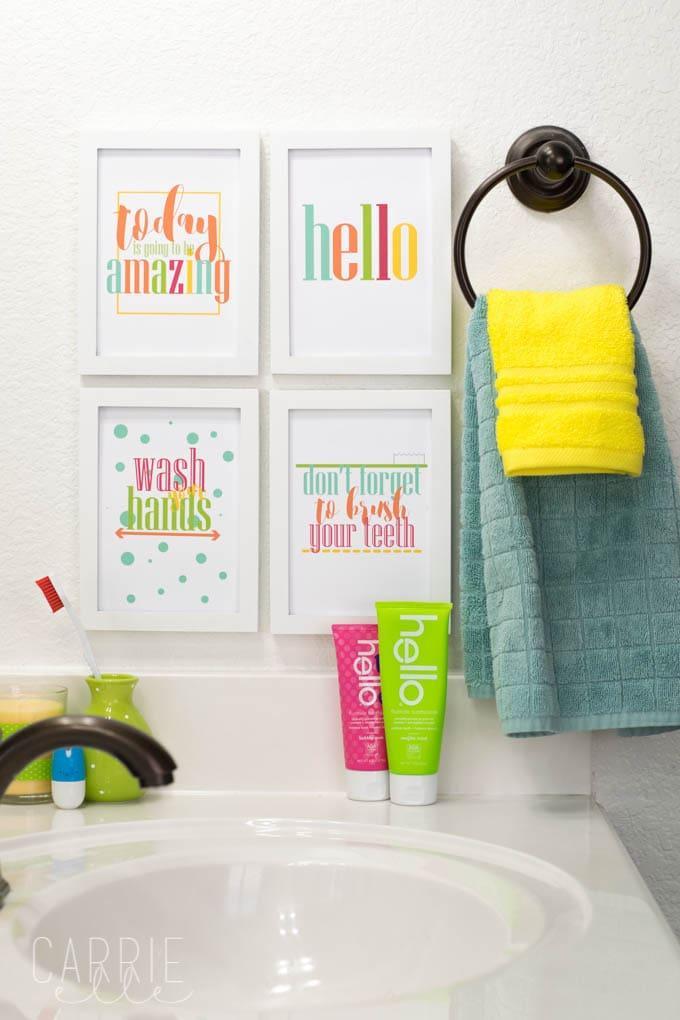 Cuarto de baño de la Albarrada de Arte Free Imprimibles ...