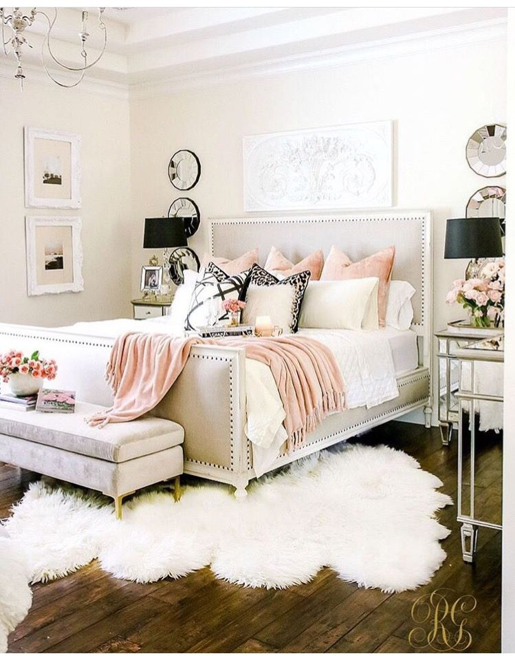 Black White And Pink Bedroom.Pin On Mara
