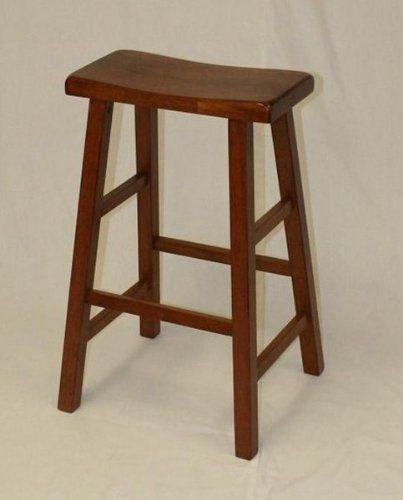 Strange 29 Saddle Stool In Dark Oak Dark Oak 29H X 18W X 16D Machost Co Dining Chair Design Ideas Machostcouk