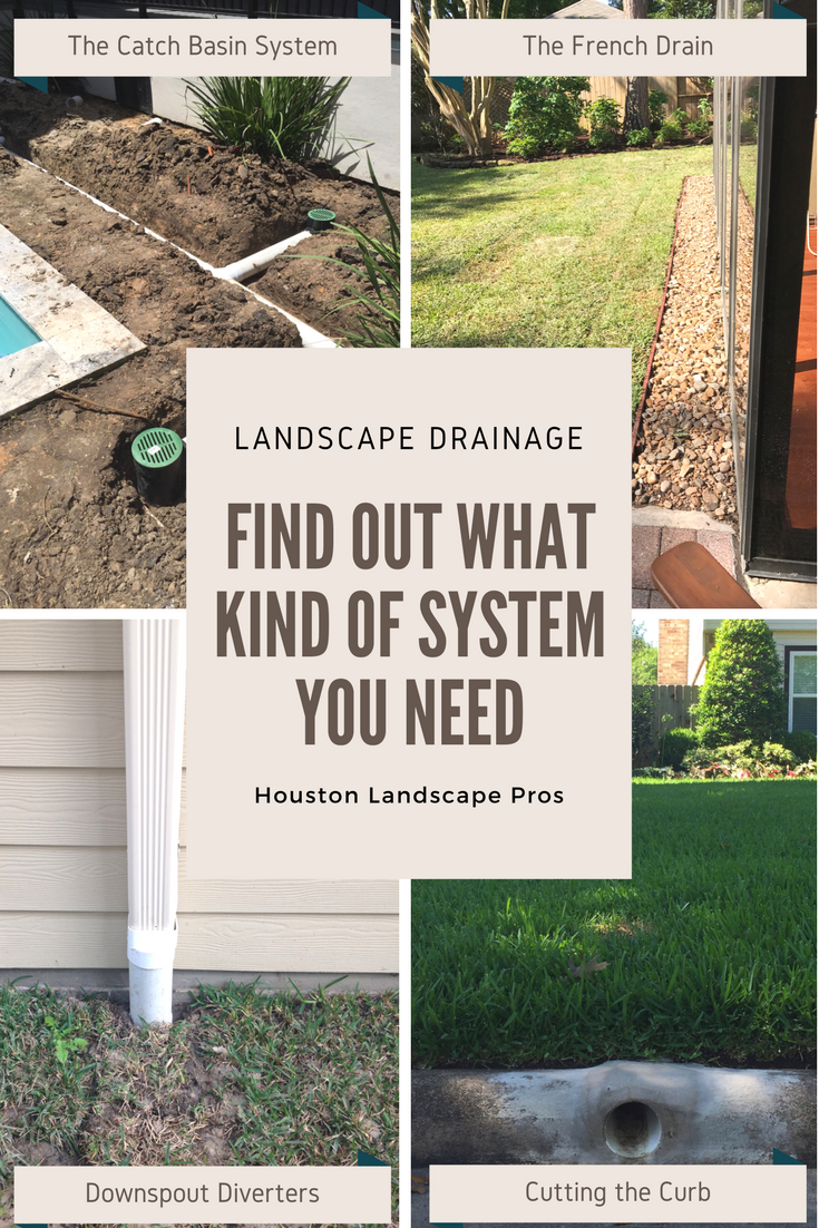 Landscape Drainage Solutions! In this page, we provide short descriptions  of the different yard drainage systems and their pros/cons. - Landscape Drainage Solutions! In This Page, We Provide Short