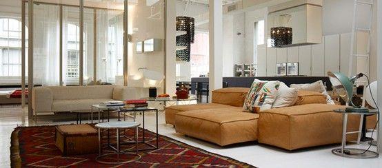 Piero Lissoni For Living Divani Extra Soft Sofa Series