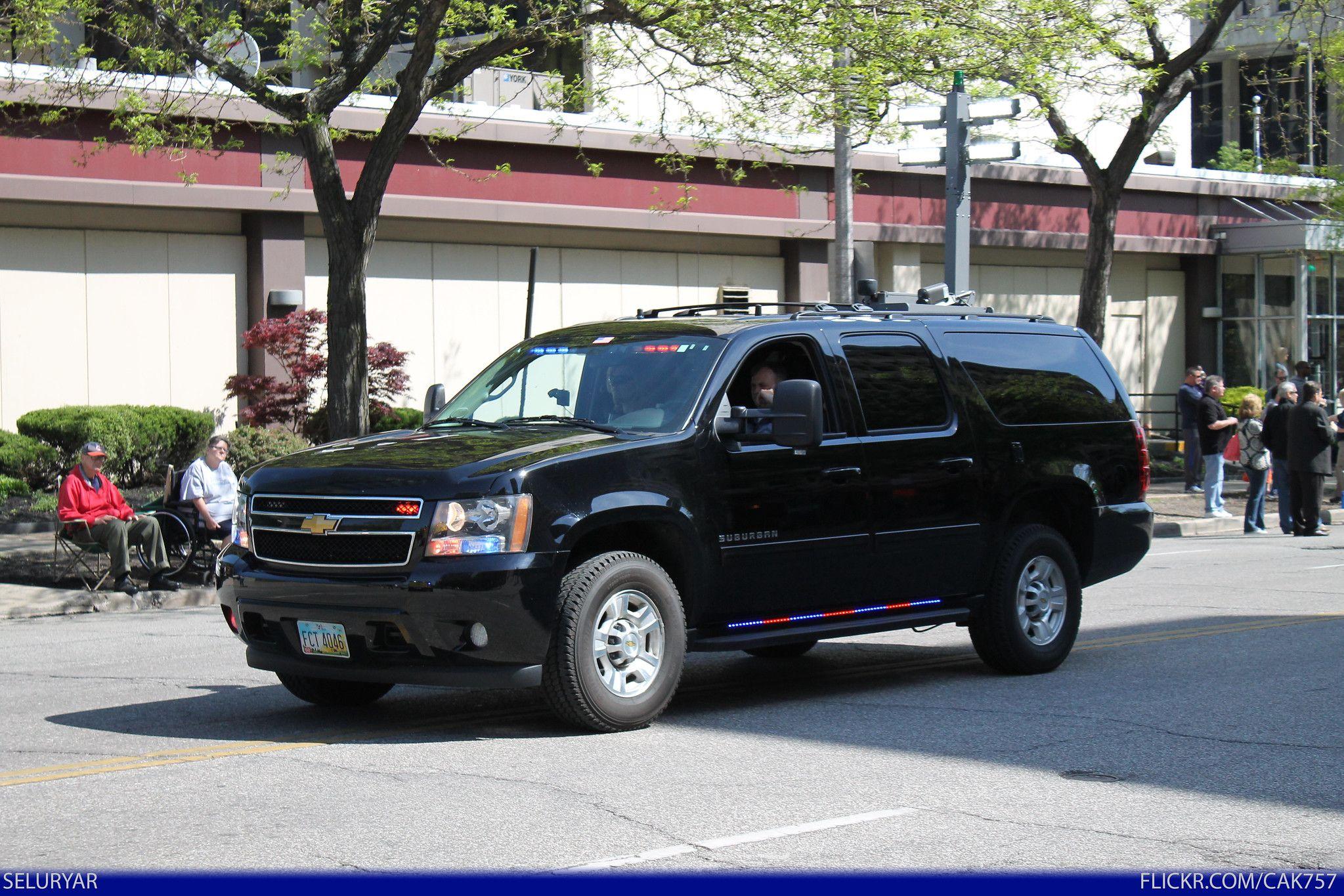 Fbi Federal Bureau Of Investigation Chevrolet Suburban Fbi Car