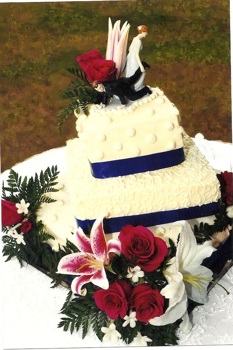 Homemade wedding cake | Wedding | Pinterest | Wedding cake, Weddings ...