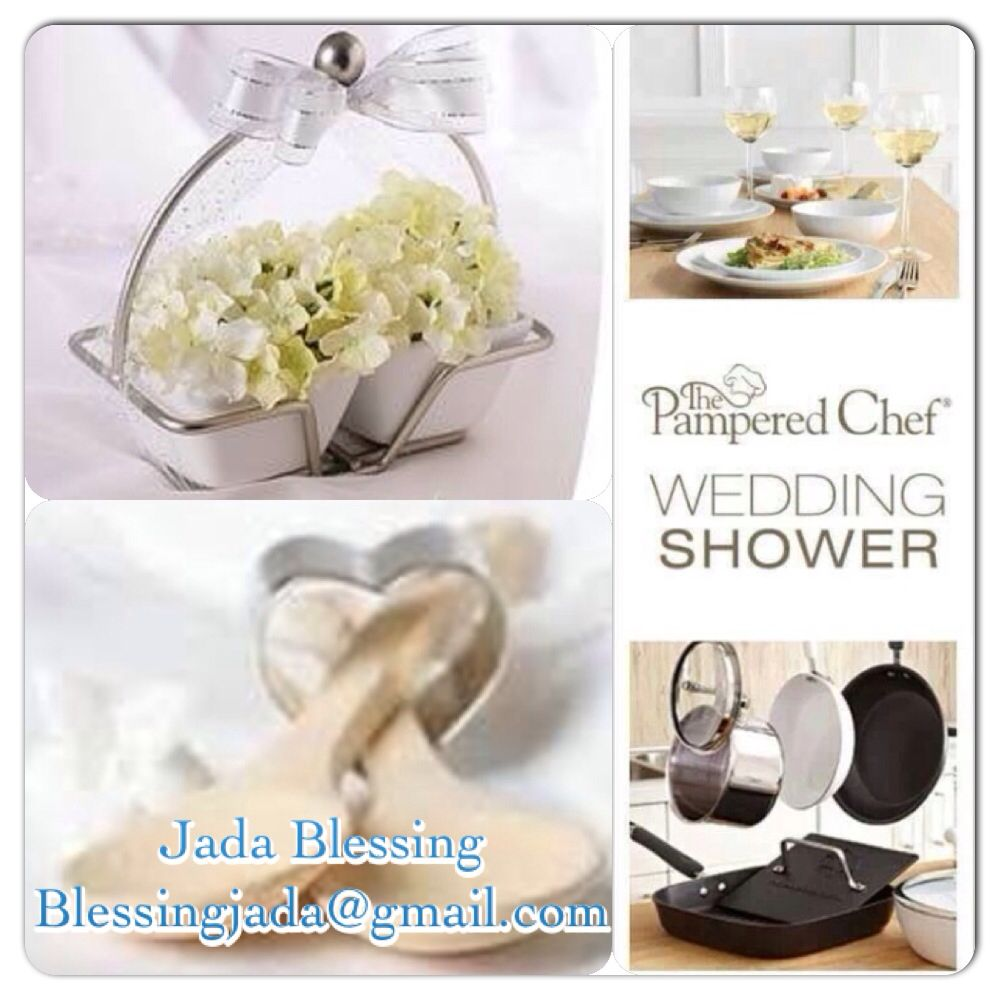 let me create the most unique and personalized bridal shower for you or your friend with the pampered chef contact me today for all the fabulous details