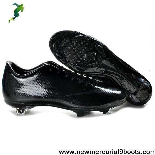 Nike Mercurial 9 - Nike Mercurial Vapor IX FG all black Cleat Soccer Boots Shop