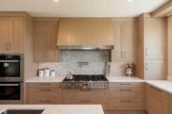 Oceanfront Pebble Beach Transitional Kitchen Kitchen Designs