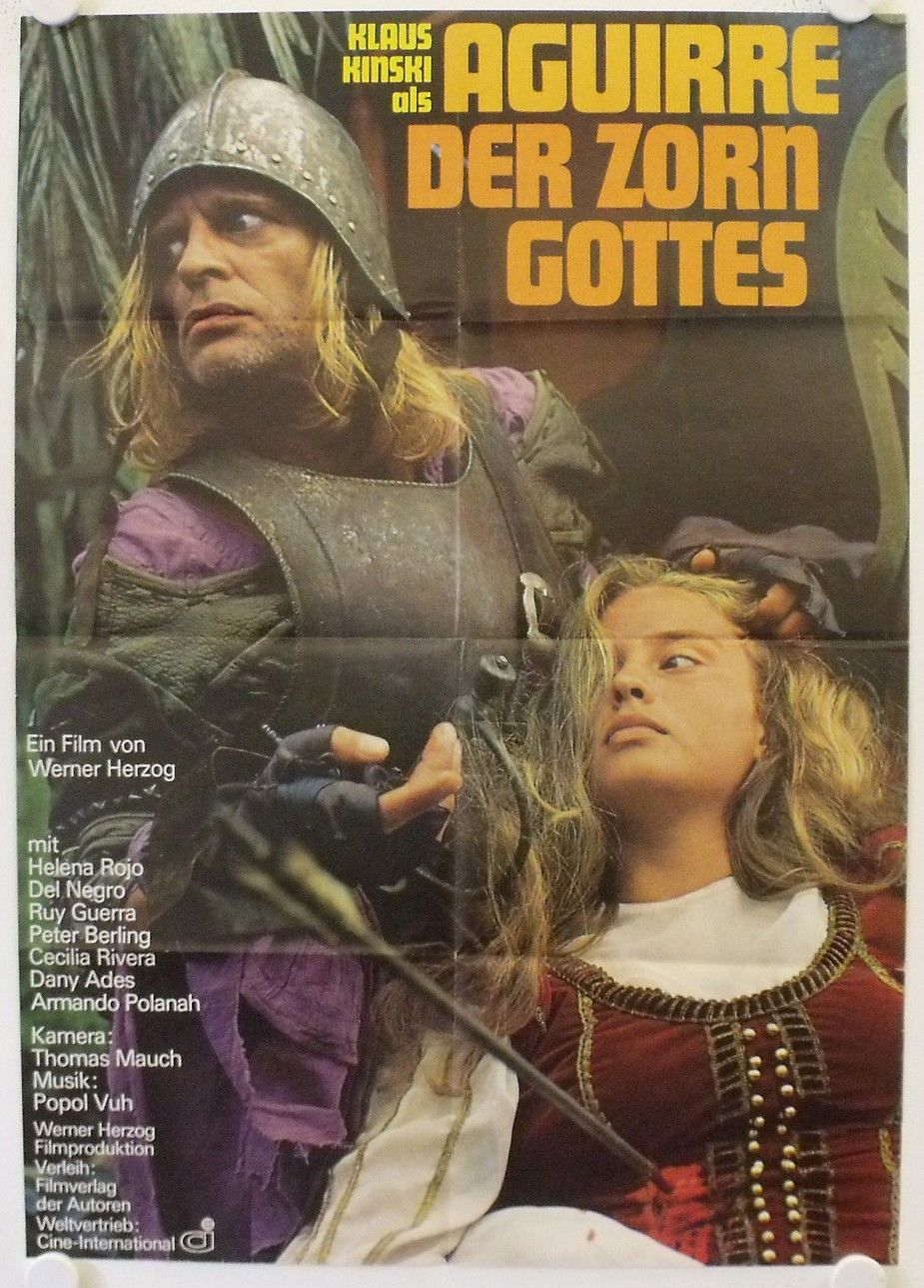 Aguirre Wrath Of God Original Release German Movie Poster Galerie Filmposter Net Sinema
