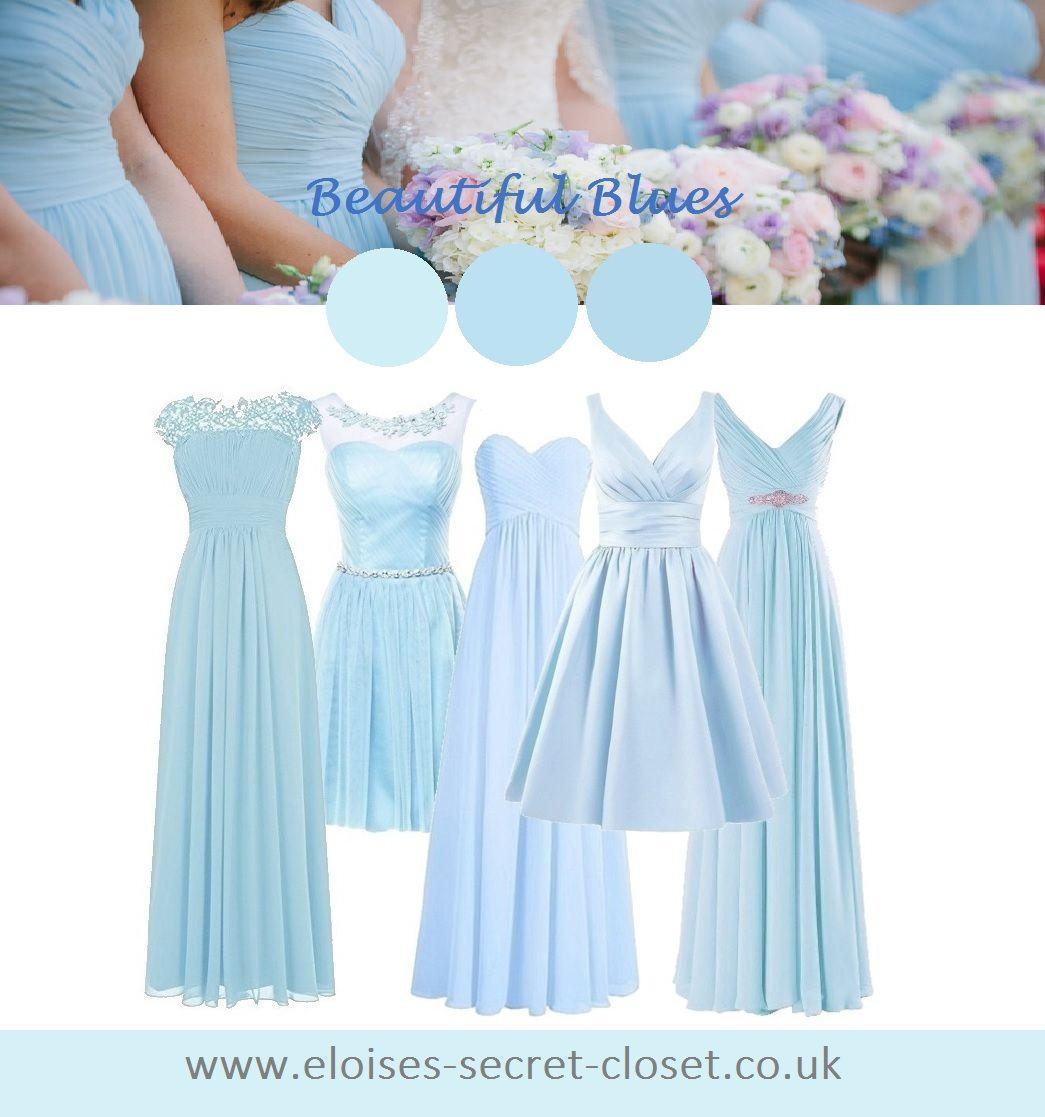 Blue Baby Blue Pale Blue Dresses Pale Blue Dresses Bridesmaid Dresses Bee Wedding