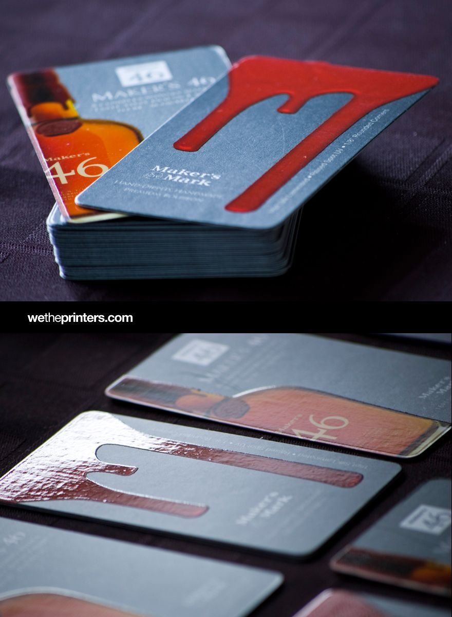 Epic business card proves I love everything Makers Mark! | Design ...