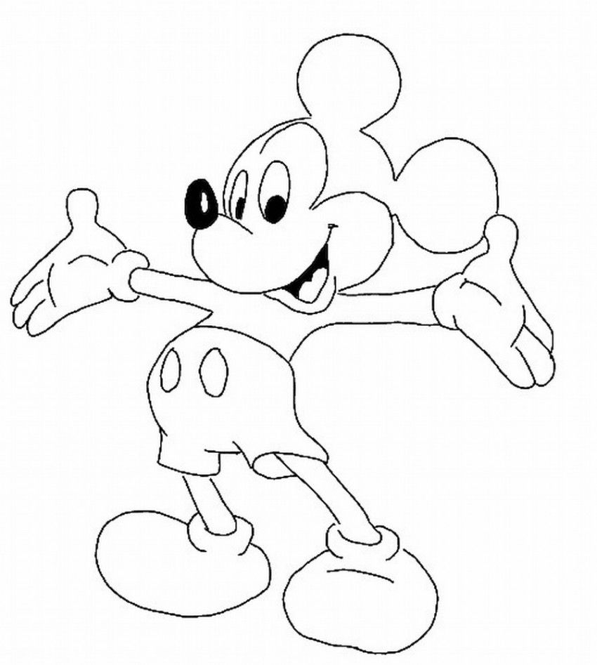 Sudut Color Cartoon Characters Coloring Pages