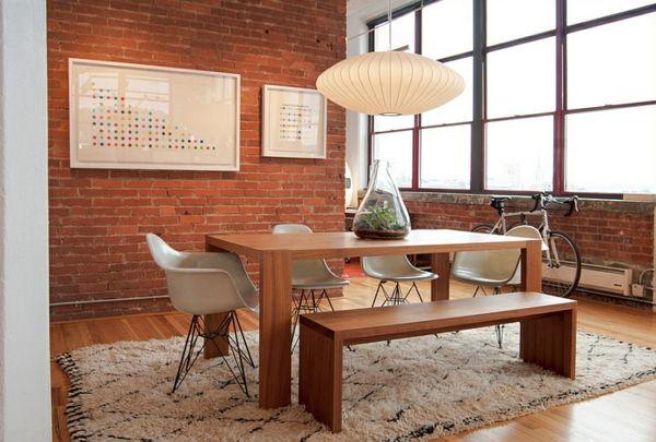 Designer Esszimmer große pendelleuchten im esszimmer moderne hängelen