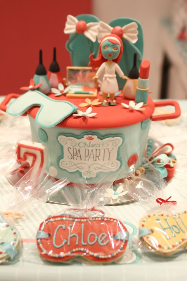 Chloe's Spa Party – Ultimate Spa Cake