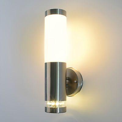 Außenleuchte Außenlampe Edelstahl Bewegungungsmelder Gartenleuchte Garten 232