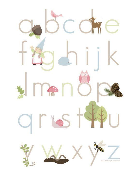 Want to make my own alphabet poster