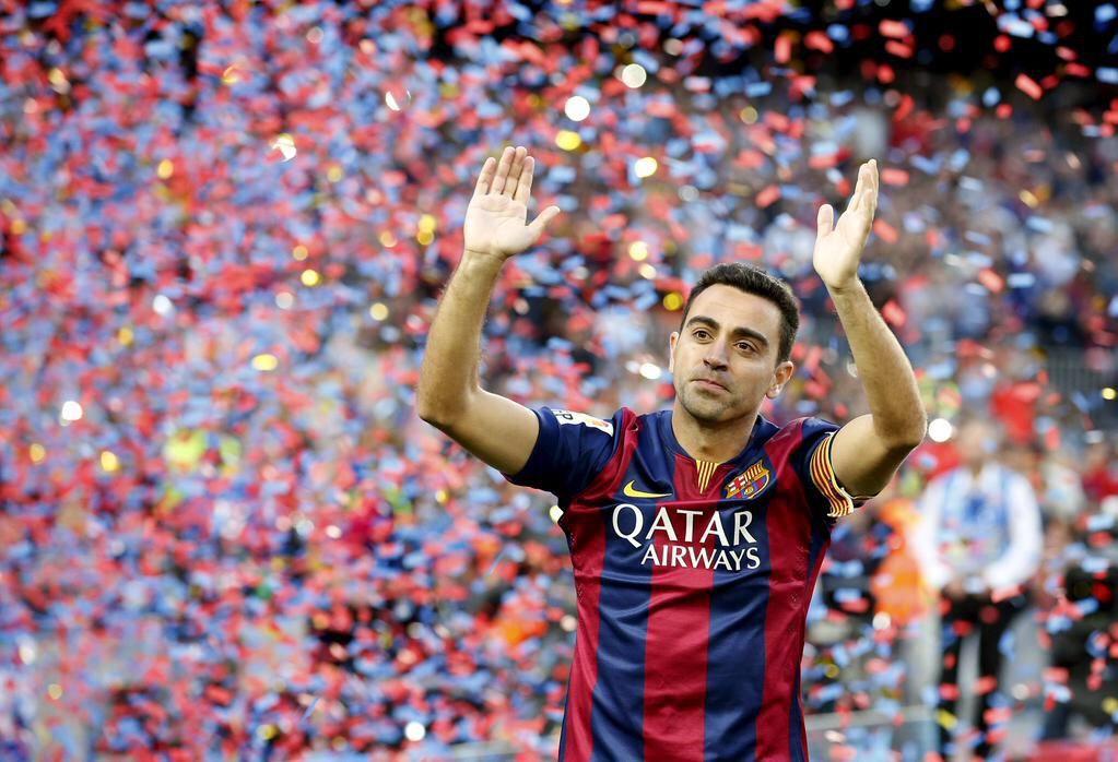 تشافي  فاز بـ25 بطولة مع برشلونة ، اكثر من اي لاعب اخر لعب لنادٍ إسباني