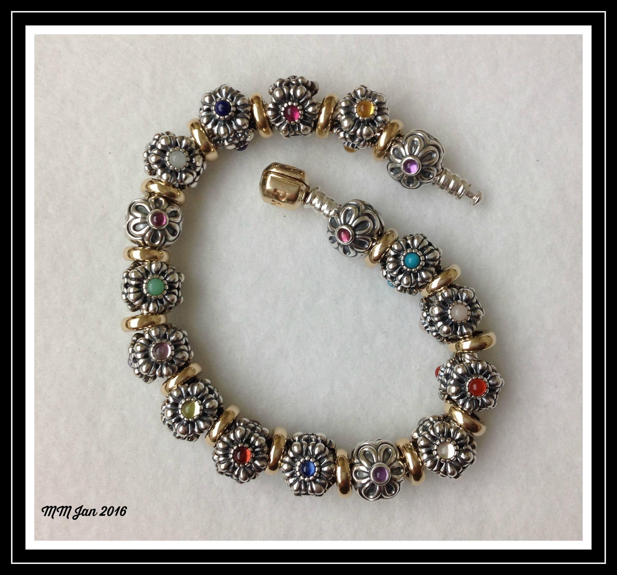 Birthday Bloom Bracelet Pandora Bracelet Charms Pandora Bracelets Pandora Jewelry