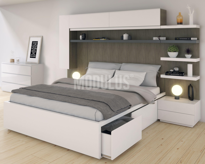 dormitorio moderno dise o minimalista dormitorio On muebles de dormitorio contemporaneo